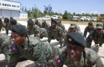 haiti ejercito 150x96 Haití reclutando pa relanzar a su ejército
