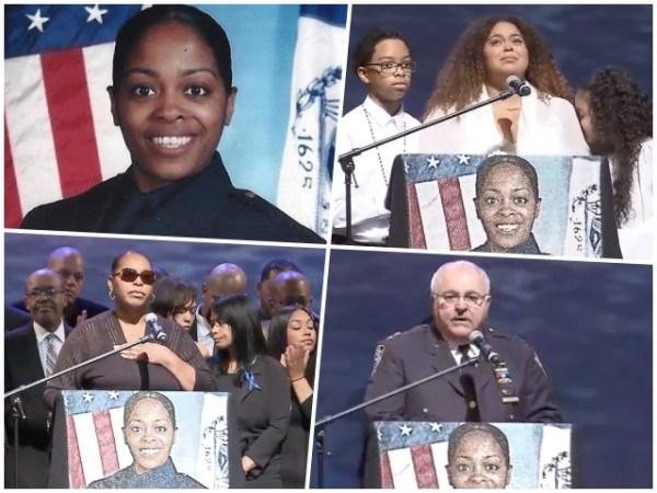 miosotis funeral 600x450 En Vivo:  Ultimo adiós a policía dominicana asesinada en El Bronx