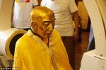 momia 150x100 Momia bañada en oro con los órganos en increíble estado