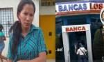 mujer 150x90 Banquera se fue al bollo con cinco atracadores