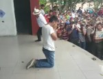 pela 150x115 Video: Le dan una pela a un ladrón en Guatemala