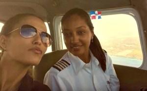 piloto 300x186 La única piloto dominicana en vuelos comerciales
