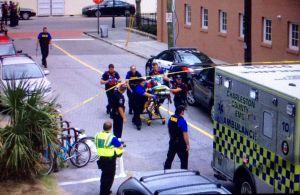Charleston 300x195 Termina toma de rehenes tras tiroteo en Charleston; un muerto
