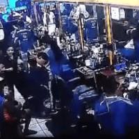 Video - Atracador hiere de tres balazos a barbero dominicano en NY
