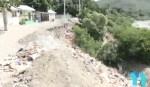 derrumbe 150x87 Preocupación por derrumbe en comunidad de Baní