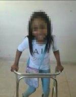 nina 1 150x190 RD   Sacerdote, y director de escuela, dizque niega inscripción a niña con discapacidad