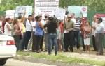 protesta 150x95 Protestan por construcción de bomba de gasolina próximo a escuela