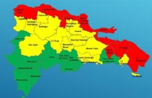 alertas rd 300x193 No darán clases en zonas bajo Alerta Roja desde el miércoles