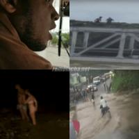 Periodista se quilla con las Imprudencias cometidas durante el huracán Maria