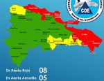 mapa 150x116 RD: No hay clases en zonas bajo Alerta Roja