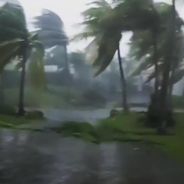 María golpea Puerto Rico