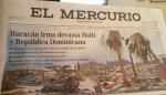 periodico 150x86 Periódico chileno mete la pata sobre huracán Irma en RD