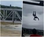 rio 150x127 Laigate, laigate!: Se jondean de puente en crecida de río (Video)