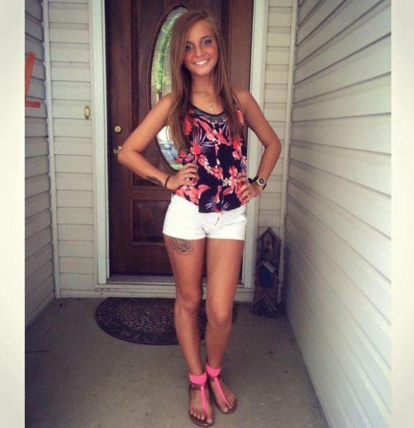 Samantha Huntley 1 600x620 Madre habla sobre cómo la heroína mató a su hija de 20 años