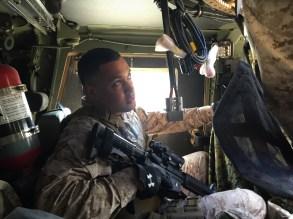 Sargento T. Caraballo Orgullosamente oriundo de La Culata, Partido Dajabon. 20 años como US Marine.