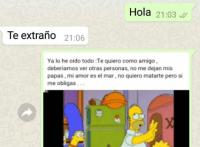 Viral 1 200x147 Terminó con su jeva usando memes de Los Simpson y se volvió viral