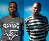 atraadores 200x169 Agarran acusados de atracar mensajero en SFM