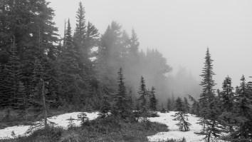 云雾扑面而来