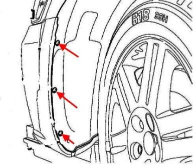 Как снять передний и задний бампер Chrysler 300 C, Magnum