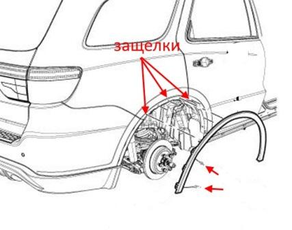 How to remove front and rear bumper Dodge Durango (after 2011)