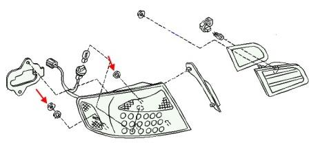 Как снять передний и задний бампер Infiniti G серии (2002