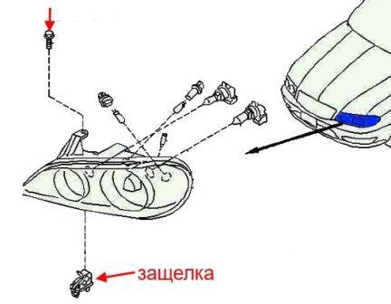 Как снять передний и задний бампер Infiniti I30 (I35)
