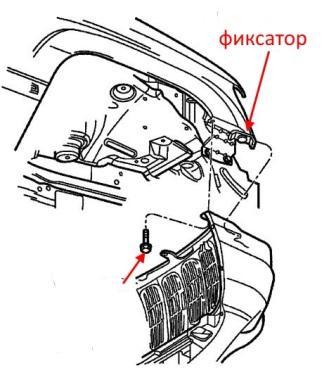 Как снять передний и задний бампер Jeep Grand Cherokee WJ
