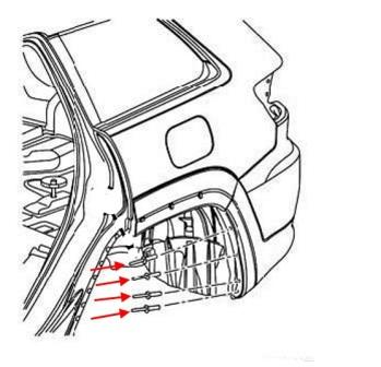 How to remove front and rear bumper Jeep Grand Cherokee
