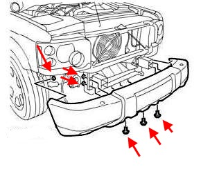 How to remove front and rear bumper Land Rover Discovery