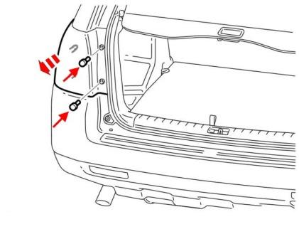 How to remove front and rear bumper Land Rover Freelander