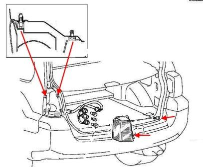 How to remove front and rear bumper Mitsubishi Endeavor