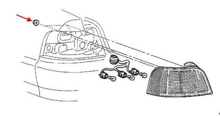 Как снять передний и задний бампер Mitsubishi Galant 8 (1996-2003)