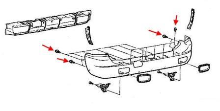 How to remove front and rear bumper Mitsubishi Pajero