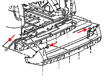 How to remove front and rear bumper Pontiac Aztek