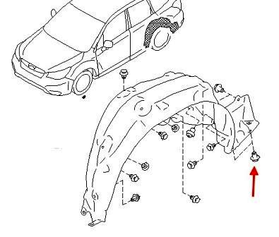 How to remove front and rear bumper Subaru Forester SJ (2014)