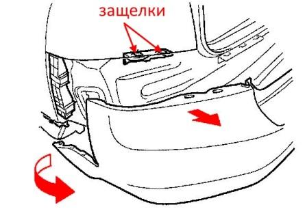 How to remove front and rear bumper Acura TL (2004-2008)