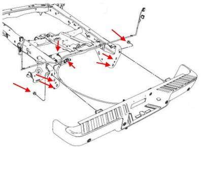 How to remove the front and rear bumper Ford F-150 (2009-2014)