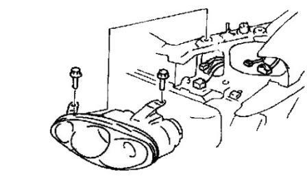 Как снять передний и задний бампер MAZDA MX-5 NB (1997-2005)