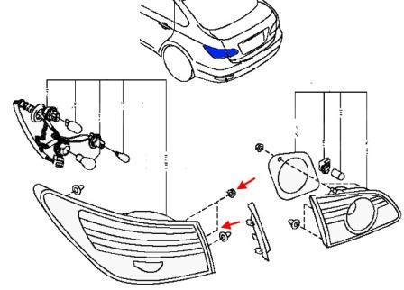 Как снять передний и задний бампер Nissan Almera G15