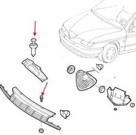 Как снять передний и задний бампер Alfa Romeo 145 (146)