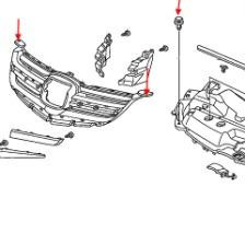 How to remove front and rear bumper Honda Legend (2004-2013)