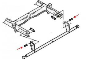 Как снять передний и задний бампер Mitsubishi L200 (Triton