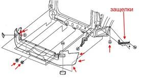 Как снять передний и задний бампер Suzuki Grand Vitara 3