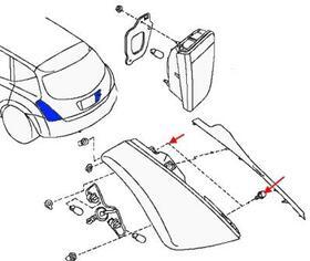 Как снять передний и задний бампер Nissan Murano Z50 (2002