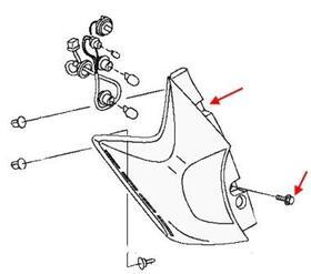 Как снять передний и задний бампер Nissan Note E12 (после