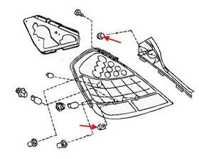 Как снять передний и задний бампер Nissan Teana J31 (2003