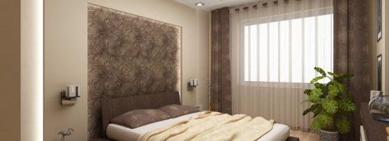 дизайн маленькой спальни 12 квм фото 5