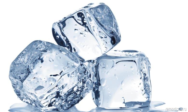 льдом