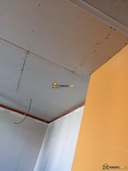 окачени тавани от гипсокартон