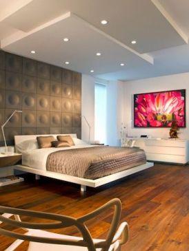 окачени тавани за спалня